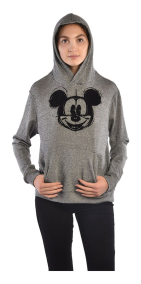 Sudadera American Level Mickey Mouse Gris Unisex