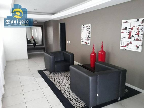 Apartamento Com 3 Dormitórios À Venda, 120 M² Por R$ 430.000,00 - Vila Assunção - Santo André/sp - Ap7599