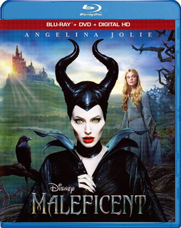 Blu-ray + Dvd Maleficent / Malefica