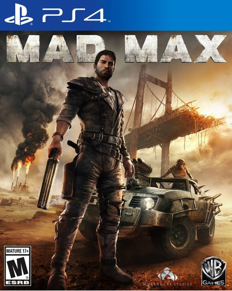 Jogo Mídia Físca Mad Max Playstation Ps4 Original