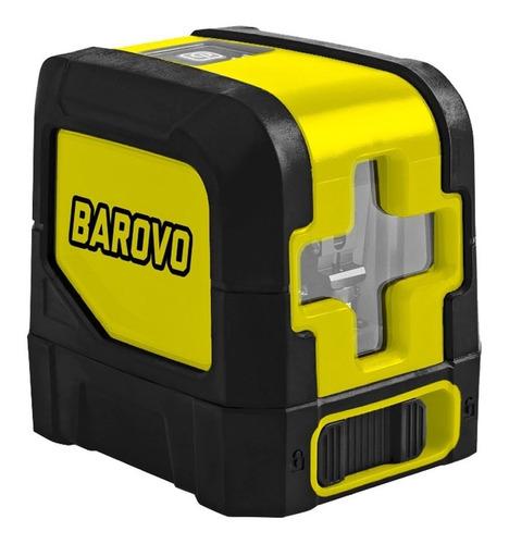 Nivel Laser Autonivelante Cruz 20 Mts Estuche Soporte Barovo