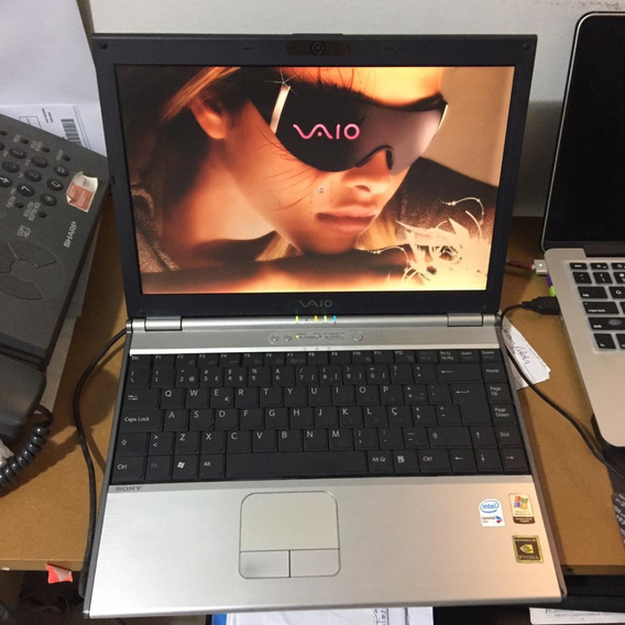 Sony Vaio Notebook 13.3 Dvd Vgn-sz2hp Cd Laptop Bluetooth Co