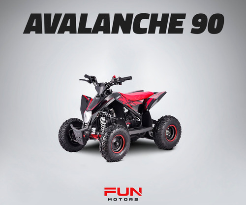 Quadri Infantil Ffun Motors - Avalanche 90cc + Frete