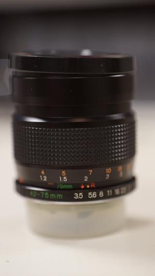 Yashica Ml Zoom 42-75mm F1:3.5-4.5 C Adaptador Sony Nex