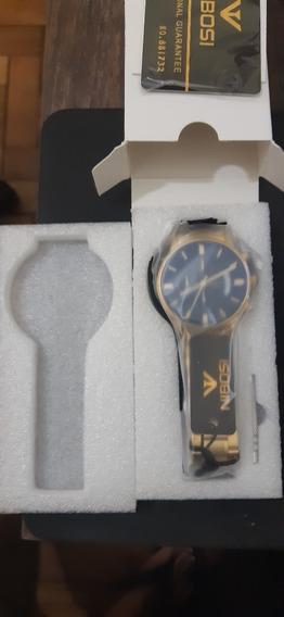 Relógio Nibosi Masculino Cronógrafo Luxo Original