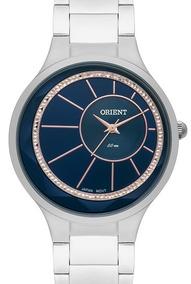 Relógio Orient Feminino Prata Fbss0073 D1sx