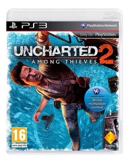 Uncharted 2 Among Thieves Ps3 Mídia Física Pronta Entrega