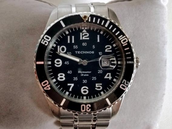 Relógio Technos Skymaster 100m Skydiver Submariner Seiko