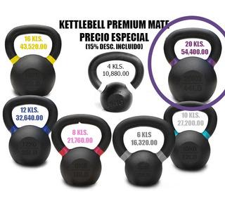 Kettlebell Pesa Rusa Premium 20 Kilos (44lbs)