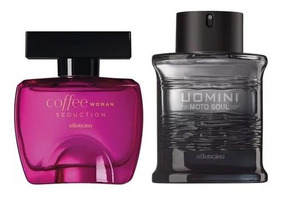 Perfume Coffee Seduction Fem + Uomini Moto Soul Boticário