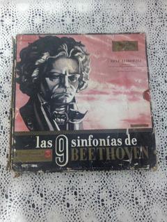 Las 9 Sinfonías De Beethoven (disco De Vinilo)