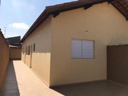Casa Com Suíte No Bairro Nova Itanhaém, Em Itanhaém, 7009