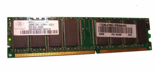 Memoria Ram Pc Ddr 266mhz De 256mb Nanya, Ultima Unidad!