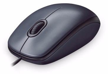 Mouse Óptico Logitech Usb 2.0 M90 Preto 1000dpi Com Nf