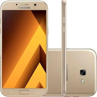 Samsung Galaxy A7 2017 4g 32gb 16mp Dourado Seminovo