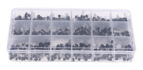 900 Pieces 18 Valores (x 20) Npn Pnp Poder Transistors Sorti