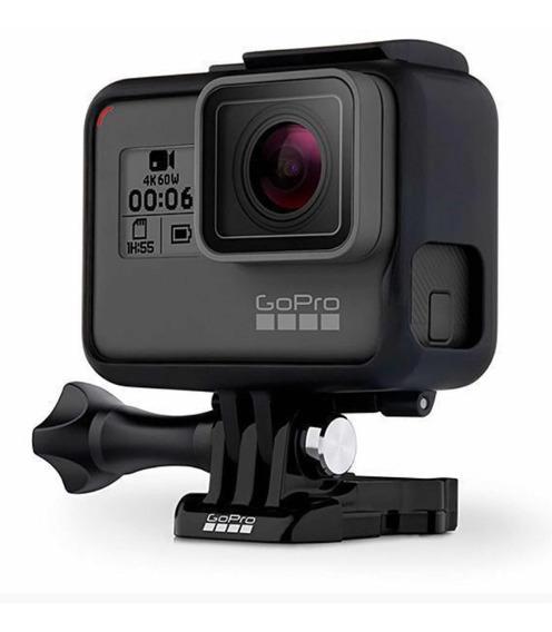 Câmera De Ação Gopro Hero 6 Black 12mp 4k Wi-fi E Comando Vo