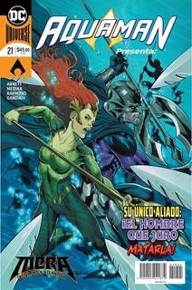 Comic Dc Universe Rebirth Aquaman # 21 Español Nuevo