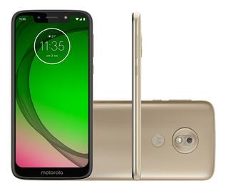Smartphone Motorola G7 Play 32gb 4g 2gb Ram - Dourado