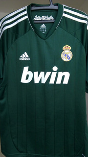 Camisa Real Madrid 2012 2013 Verde
