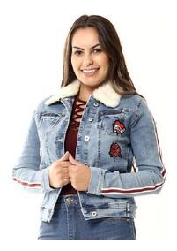 Jaqueta Jeans Feminina Sawary - Promoção