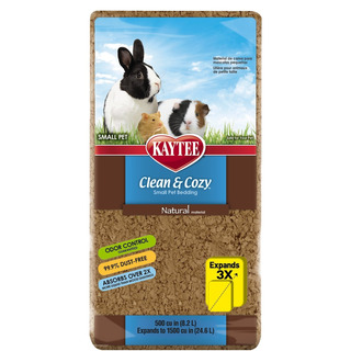 Kaytee Ky94760 Clean And Cozy Natural Bedding, 500 Cubic Inc