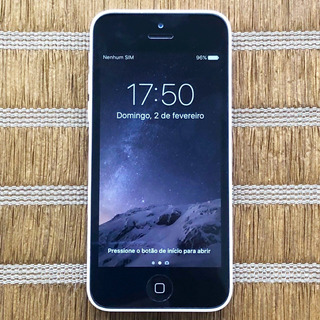 iPhone 5c 8gb Desbloqueado Anatel - Seminovo Perfeito