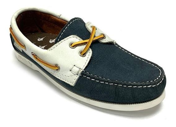 Zapatos Nauticos Pielsa Caballero Azul Pi 0001 Corpez 44