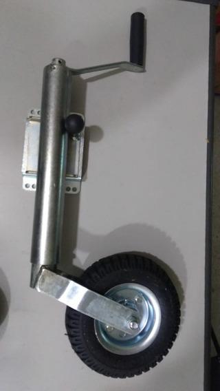 Pedestal Carreta Roda Carretinha Reboque Articulado 300 Kg