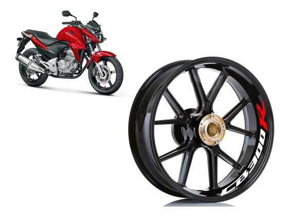 Adesivo Premium Interno Roda Moto Honda Cb 300 R Cb300r