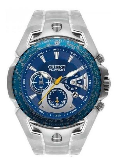 Relógio Orient Masculino Flytech Raptor Cronógrafo Mbttc006