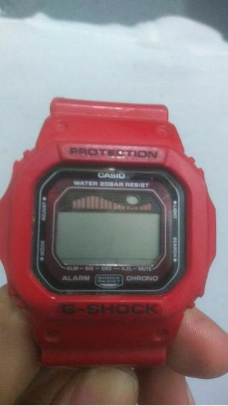 Relógio G-shock Glx-5600 Vermelho Original