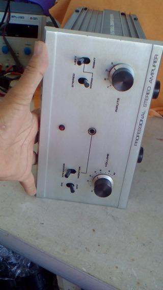 Amplificador Quasar Qa-2240-x Muito Conservado