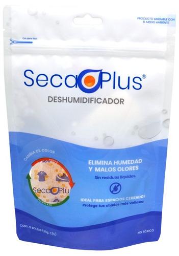 Silica Gel Secante P Humedad Secaplus Deshumidificador 5x30g