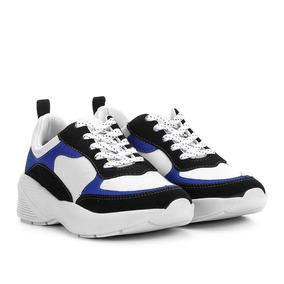 e667c816b0 Tênis Chunky Ramarim Sneaker Tricolor Feminino