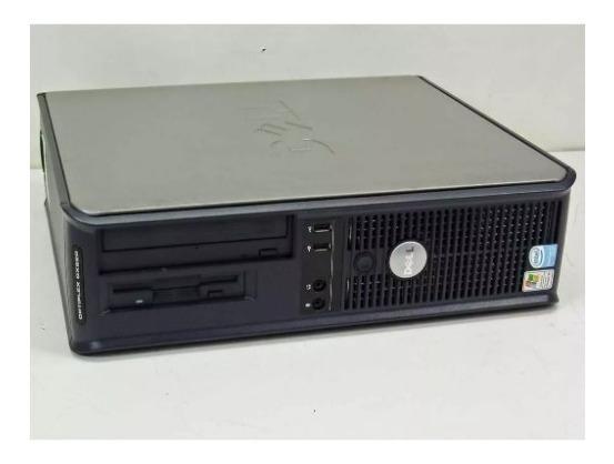 Pc Micro Dell Gx620 Pentium 4 Ht Memoria 2gb Hd 80gb Otimo