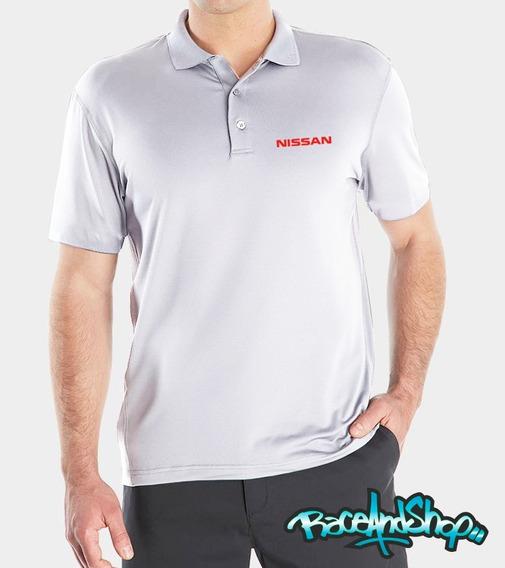 Playera Premium Tipo Polo Dryfit Envio Gratis!! Nissan