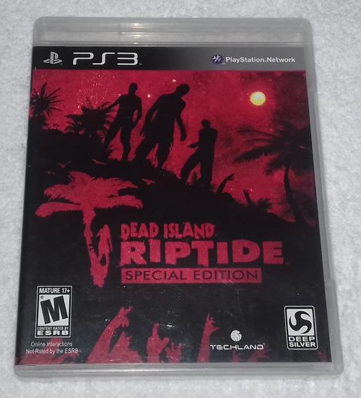 Dead Island Riptide Special Edition Ps3 *** Leia