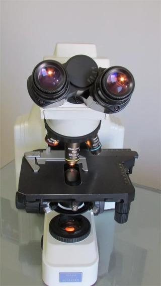 Microscopio Nikon E400 3 Objetivos 4x 10x Y 40x