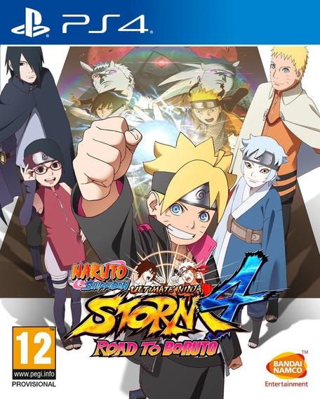 Naruto Ultimate Ninja Storm 4 Boruto Ps4 Midia Física