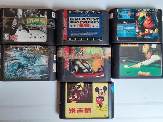 7 Jogos Mega Drive