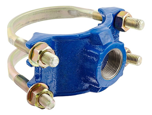 Ductile Iron Saddle Clamp, Double Bale,  Pipe Size,  N...