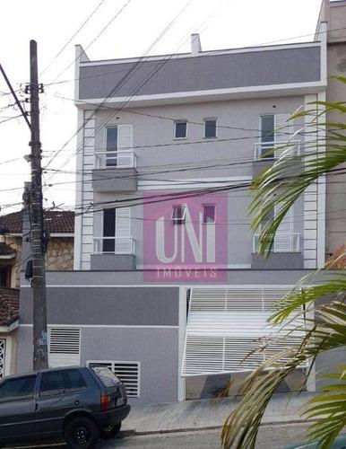Imagem 1 de 14 de Apartamento Com 2 Dormitórios À Venda, 42 M² Por R$ 235.000 - Vila Francisco Matarazzo - Santo André/sp - Ap1707