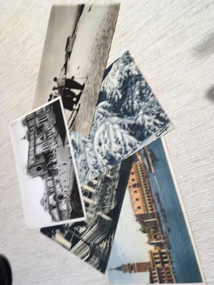 Postales Antiguas De Europa Lote De 5 Unidades