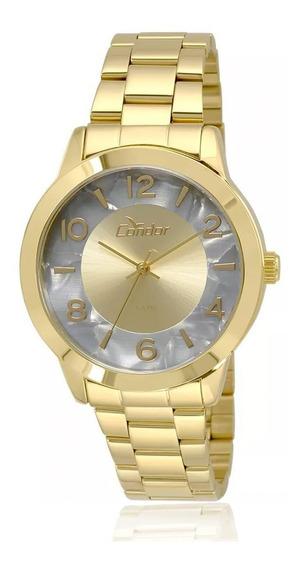 Relógio Feminino Condor Analógico Co2035krj/4c Dourado