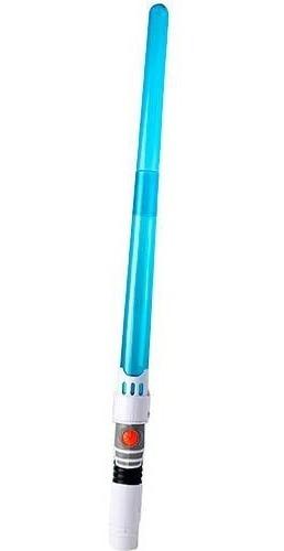 Espada Sabre De Luz Com Som E Luz Dupla 90 Cm Space Guardian