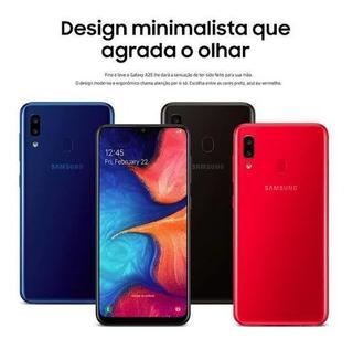 Smartphone Samsung Galaxy A20 Original Sm-a205 32gb