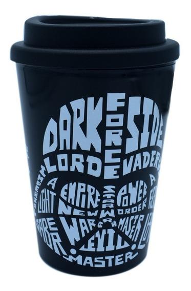 Termo Cafe Vaso Termico Star Wars Taza Darth Vader 350ml