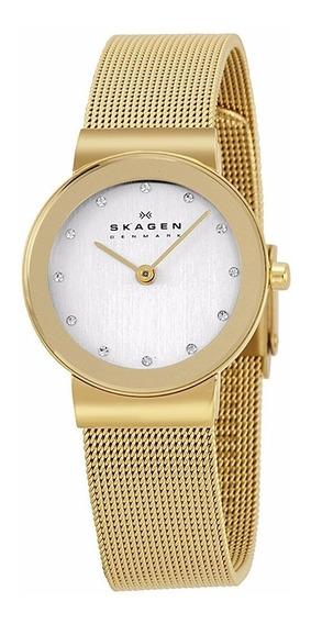 Relógio Skagen Ladies Gold 358sggd