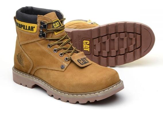 Sapato Coturno Bota Masculino Adventure Social Amarela